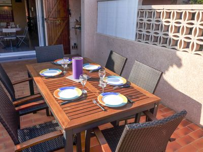 Photo for Vacation home Hameau des Tamarins in Le Barcarès - 4 persons, 2 bedrooms