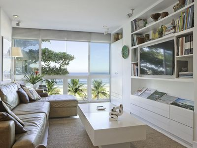 Photo for 4-Bedroom Luxury Apartment with Sea View in Leblon