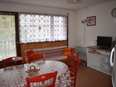 Photo for Beautiful apartment T2 cabin Saint Lary Soulan, calm and bright 4 to 6 people