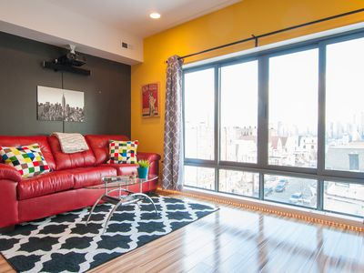 Photo for NEW LUXURY 2BR PENTHOUSE - 10 MINS to TIMES SQUARE