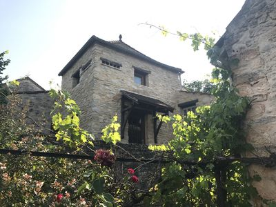 Photo for Stone village house with dovecote and large terrace