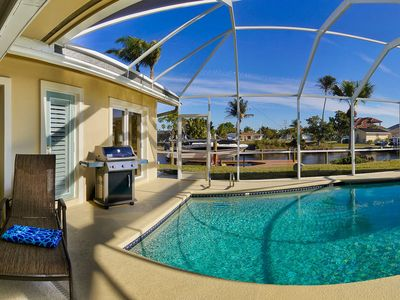 Photo for Cape Coral Beauty 4 BR/3BA - Boater's Paradise w/Sunset Dreams! (Boat Available)