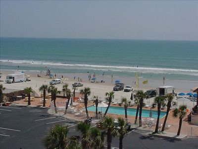 Photo for TOP FLOOR CONDO AT SEA DIP BEACH RESORT, JUST ONE HOUR FROM DISNEY!!!