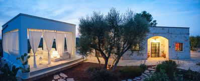 Photo for Refined house with a large patio overlooking the expanse of olive trees, outdoor stereo system