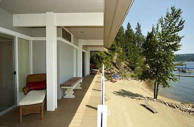 Photo for The Beach House at Twin Beaches Lake Coeur D'Alene, Idaho
