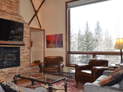 Photo for Winter Special! - Little Known Gem In Vail; Platinum Rated; - Ski In/ Ski Out