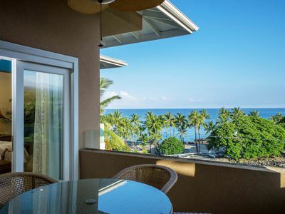 Photo for 1 BR/2 BA Kona Coast Oceanfront Villa w/ Private Lanai, Walk to Beach