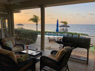 WINDSONG - Beachfront w/ Private Dock & 50 ft Pool