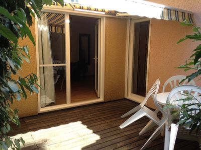 Photo for Pr 2 rooms 4 pers. near the sea with access bike path