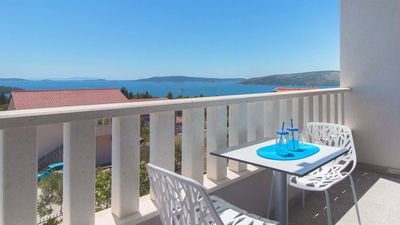 Photo for Elegant sea view studio VISTA 2 - EOS CROATIA