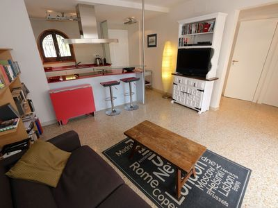 Photo for Cosy apartment for 4 people with WIFI, A/C, TV and parking