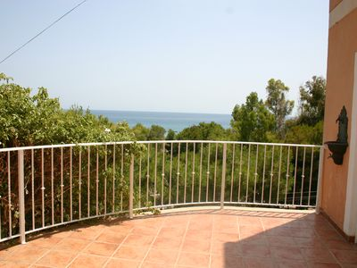 Photo for Spectacular villa by the sea