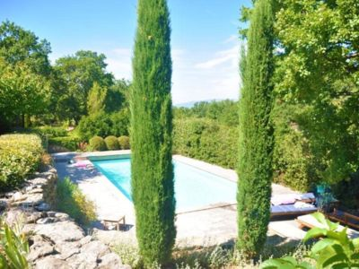 Photo for Delightful stone mas, quiet and heated pool