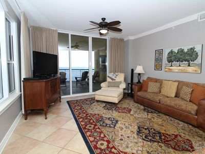 Photo for Beach Colony East 6A- Beach Front unit with large terrace & amazing views!