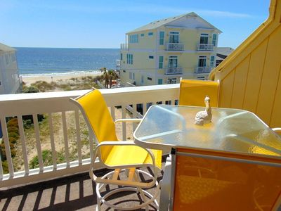 Photo for Welcome to the new Sun Skipper unit 10-E!  Newly updated for 2019!  Just steps from the beach and short walk to Carolina Beach Pier