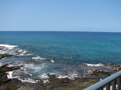 Photo for Amazing Oceanfront - Walk to Town & Beach - Hale Kona Kai 1 bedroom Condo with AC