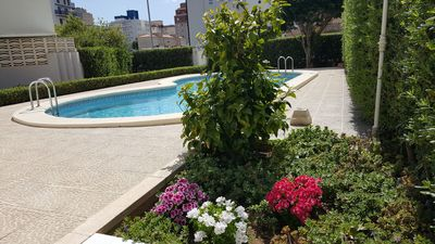 Photo for appart HEDEN II-SAMARUC Gandia playa- swimming pool, wifi, air conditioning, parking, beach at 150m