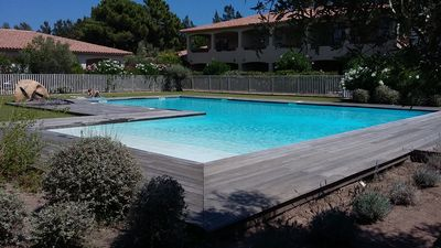 Photo for Mini villa T3 Porto Vecchio Penthouse with pool 800 meters from the beach