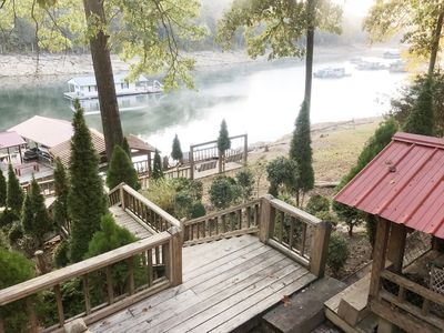 Photo for BEAUTIFUL VIEWS! 3 BRM,  2 Bath house 64 steps from Lake Norris, WIFI