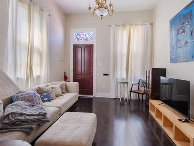 Photo for Bright and Spacious Irish Channel double steps from bustling Magazine Street