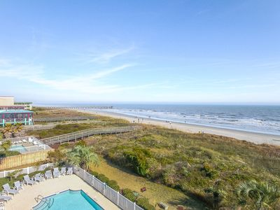 Photo for Ocean Palms 303: 4 BR / 4 BA villa in Isle Of Palms, Sleeps 8