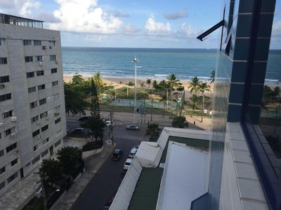 Photo for Flat in Boa Viagem, Sea View and excellent Structure in 12X without interest