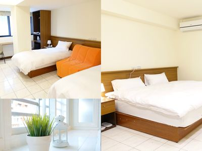 Photo for 03 Newly Renovated Downtown MRT Metro Hotel Suite 市中心捷運站旁酒店式套房