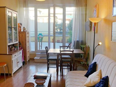 Photo for Apartment in Nice with Internet, Air conditioning, Terrace, Washing machine (314110)
