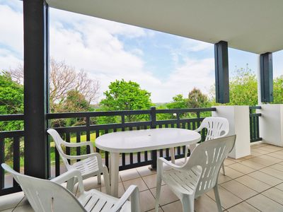 Photo for LARGE T3 WITH SWIMMING POOL, ST-JEAN-DE-LUZ, BEACH, TERRACE, WIFI, PARKING