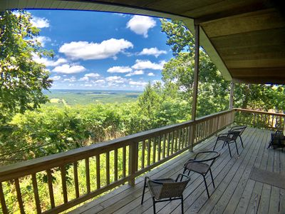 Photo for Summit Chalet, Spectacular View of the Ozarks