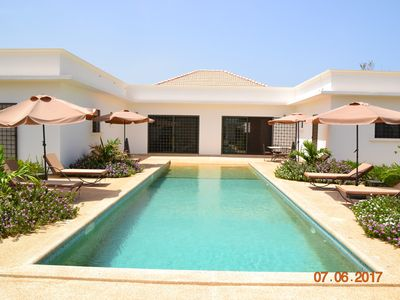 Photo for Charming villa with 5 bedrooms, 4 bathrooms with swimming pool and magnificent tropical garden.