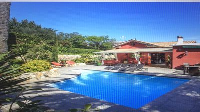 Photo for CHARMING VILLA 9 MN PALACE AND THE SEA
