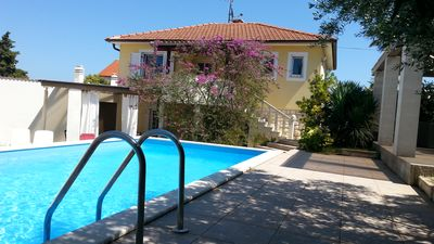 Photo for Beautiful holiday home with pool & sauna, barbecue, 400m to the beach, WiFi