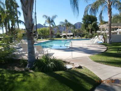 Year-round heated pool - no maintenance required from guest.