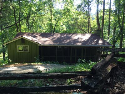 Bear Ridge Cabin Hot Tub Just Added Cozy Secluded Close To Highlands Nc Scaly Mountain