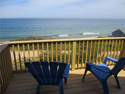 Photo for 2BD Home in the National Seashore--Ocean Views & Direct Path to Beach; A/C, Outdoor Fireplace