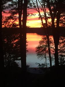 Photo for Lakefront House with Sunset Near Jim Thorpe