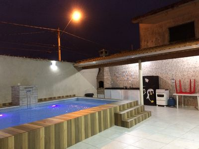 Photo for HOUSE WITH SWIMMING POOL ON GUILHERMINA BEACH