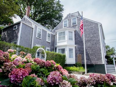 Stately Nantucket Home In Historic Downtown with Luxurious Amenities
