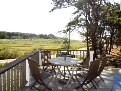 Photo for Wellfleet Beach Cottage with Inlet Views
