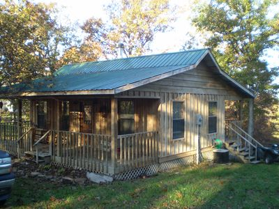 Photo for Beautiful 2 Bedroom, 1 Bath All Cedar Cabin Mountain View, AR
