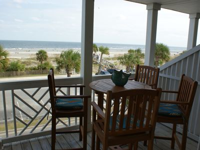 Photo for Beach Front Condo on the Strand, South Beach, Tybee Island, GA