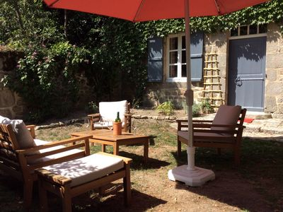 Photo for A peaceful traditional cottage in a small picture perfect hamlet near Aubusson