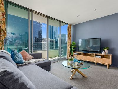 Photo for Boutique Melbourne CBD apt #free parking #free tram zone