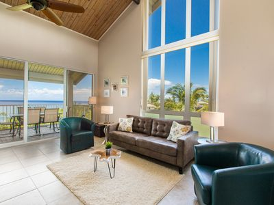 Photo for Beautiful Sunrise views from the open air lanai