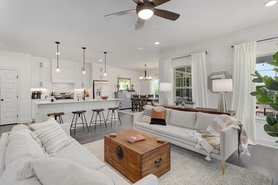 Welcome to Solitude Retreat! A freshly built getaway with an open floor plan and