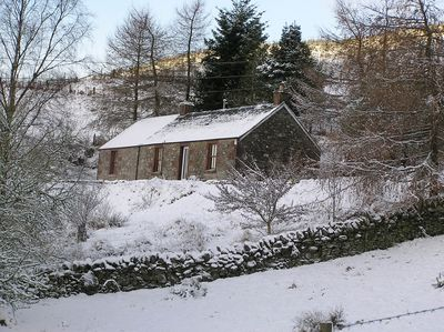 Auldallan in the snow