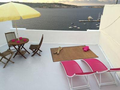 Photo for Coral - top floor apartment with the most amazing and breathtaking seaviews