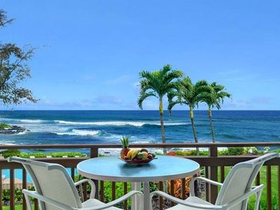 Photo for Lani Kai 122 Oceanfront 2 Bedroom, 2 Bath Condo