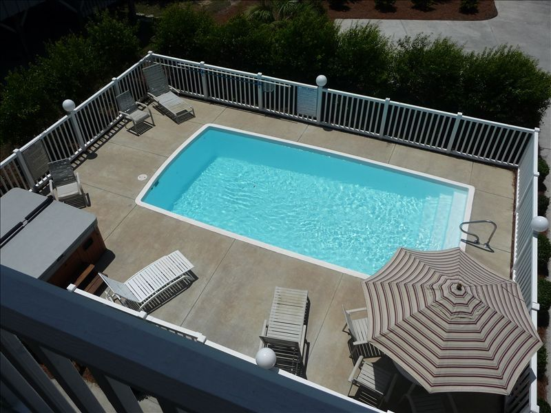 Great house beach pool hot tub elevator vrbo for Beach house elevator